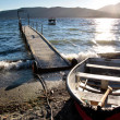 Waterside of Te Anau, New Zealand — Stock Photo