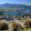 Mountain range The Remarkables from Bobs Peak — Stock Photo