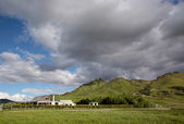 Farm house in Southland, New Zealand — Stock Photo