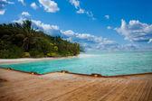 Maldives background — Stock Photo