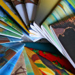 Colorful Magazines — Stock Photo #8251179