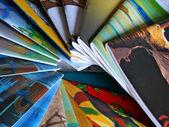 Colorful Magazines — Stock Photo