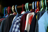 A Guy's Wardrobe — Stock Photo