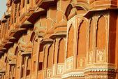 Detail, Hawa Mahal, Jaipur, India — Stock Photo