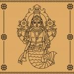 Постер, плакат: Indian goddess