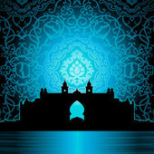 Arabic palace — Stock Vector