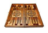 Backgammon board völlig — Stockfoto