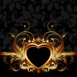 Heart frame — Stock Vector