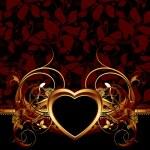 Heart frame — Stock Vector #8584491