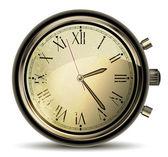 Vintage horloges — Vecteur