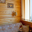 Stock Photo: Rustic style of modern lodge