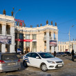 Station square in Voronezh — Stock Photo