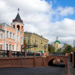 Stock Photo: Stone bridge in Voronezh in Russia