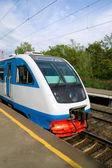 Electric train — Stockfoto