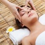 Massage of face — Stock Photo