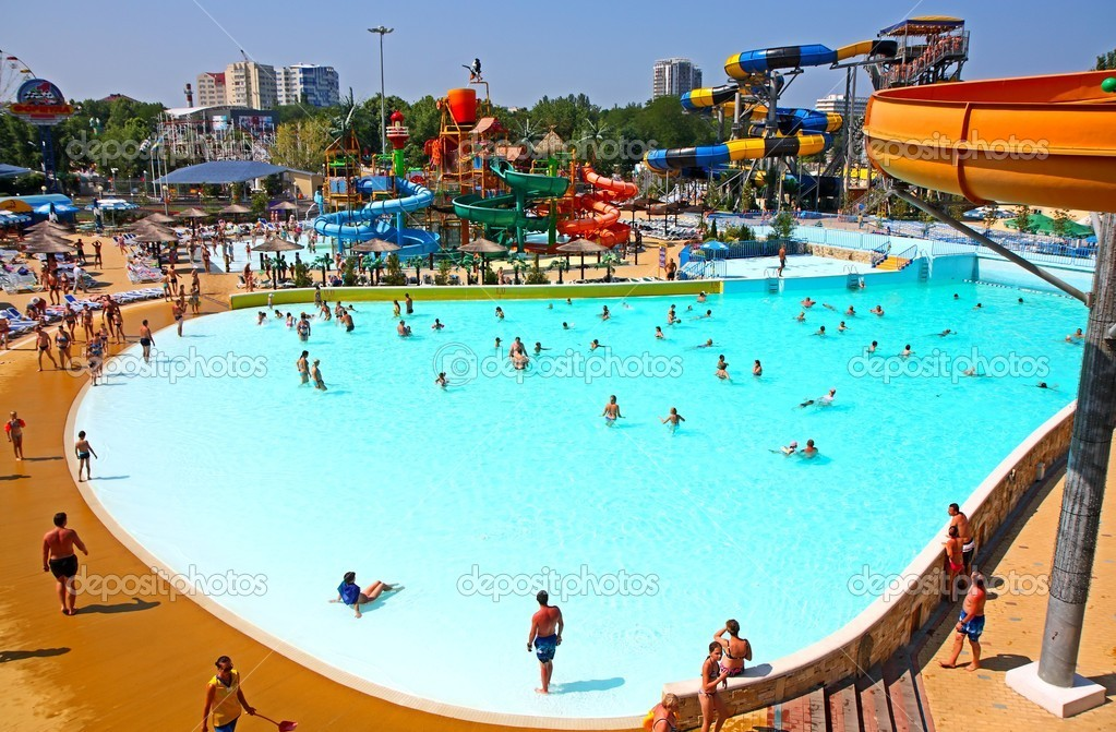 Anapa Russia  city photos gallery : Swimming pool at a water park