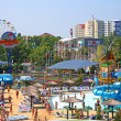 "Stock Photo: Water park ""Golden Beach"". Anapa. Children's sector"