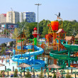 "Water park ""Golden Beach"". Anapa. Children's sector — Stok fotoğraf"