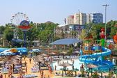 "Water park ""Golden Beach"". Anapa. Children's sector — Stock Photo"