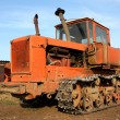 Crawler tractor — Stock Photo #8436152