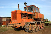 Crawler tractor — Stock Photo