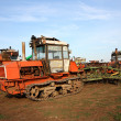 Crawler tractor — Stock Photo #8694980