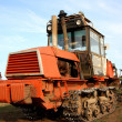 Crawler tractor — Stock Photo #9241253