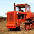 Crawler tractor — Stock Photo #9265480