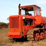Crawler tractor — Stock Photo