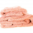 Towel (isolated) — Stock Photo #8233126