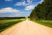 Rural road — Stock Photo