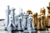 Chess of two colours — Stock Photo