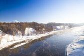 The river (winter) — Stock Photo