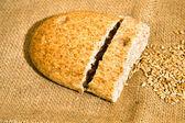Bread with grain — Stock Photo