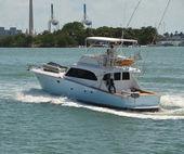 Sport Fishing Boat — Stock Photo