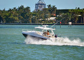 Barco de pesca deportiva — Foto de Stock