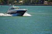 Sleek Cabin Cruiser — Stock Photo