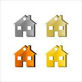 Home icon. Vector — Stock Vector