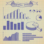 Infographics elements sketch — Stock Vector #10579945