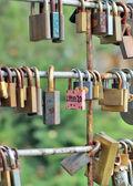 The love lock. — Stock Photo