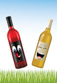 Bottle of wines — Stock Photo