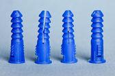 Kotwy plastikowe — Zdjęcie stockowe