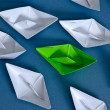 Paper boats — Stock Photo #9921317
