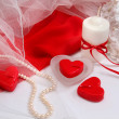 Stock Photo: Romantic background