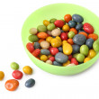 Bowl with candy — Stock Photo