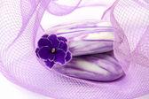 Violet spa — Stock Photo