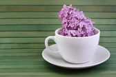 Lilac tea — Stock Photo