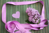 Lilac greetings — Stock Photo