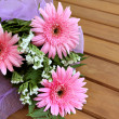 gerbera bouquet — Stock Photo
