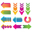 Colorful arrows. — Stock Vector